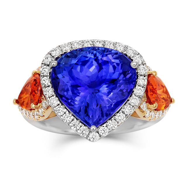 Tanzanite Royale Ring