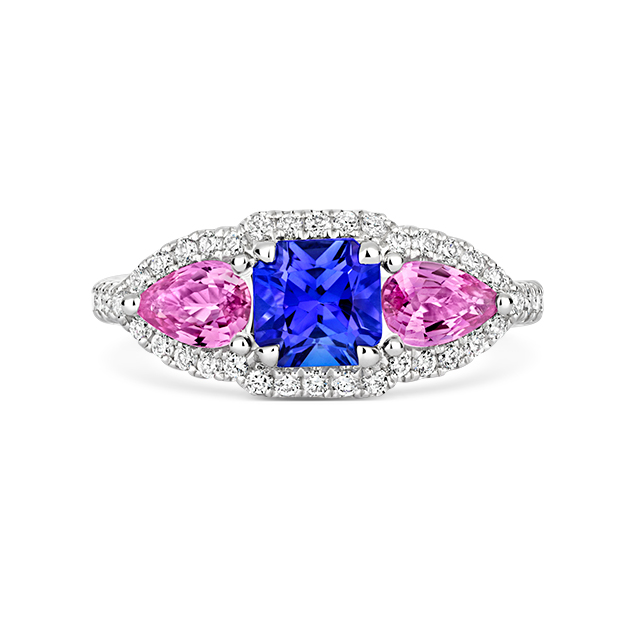 Touch Of Pink Ring